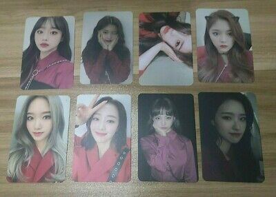 LOONA # HASH , Normal and Limited A version Official Photocards