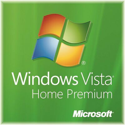 Microsoft Windows Vista Home Premium 32 Bit Full Version DVD Product Key