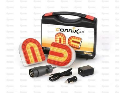 Connix Wireless LED Lighting Kit Lightboard Rechargeable 7 Pin Car or Commercial