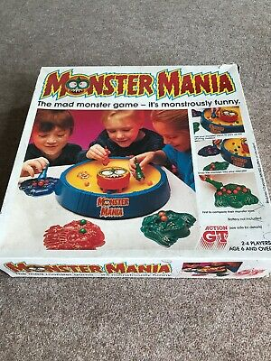 Vintage Action Gt Monster Mania Game        SEE DESCRIPTION