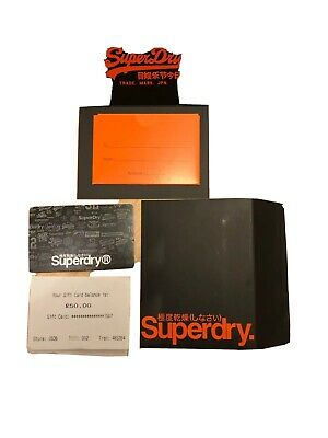 Superdry Gift Card Voucher £50 Unwanted gift