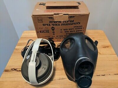 Israeli Gas Mask & Filter. Used.