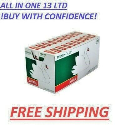 SWAN MENTHOL EXTRA SLIM PRE CUT CIGARETTE FILTER TIPS 2,3,5,10 Cheapest PRICE