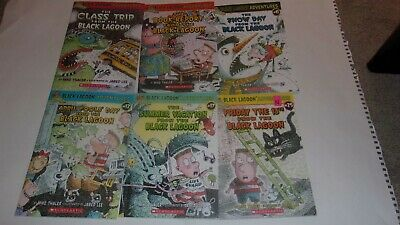 6 Black Lagoon Adventures Childrens Books