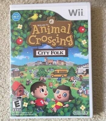 Animal Crossing: City Folk (Nintendo Wii, 2008) Game Complete