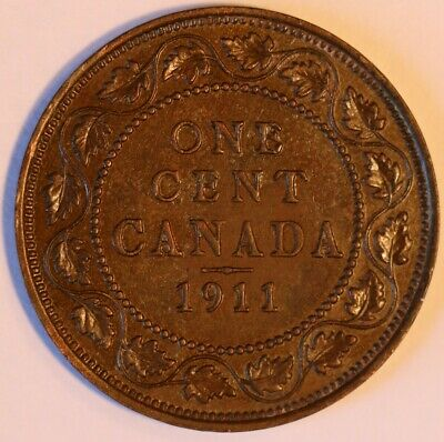 1911 Canada Large Cent