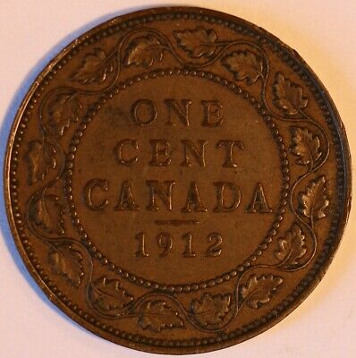 1912 Canada large cent