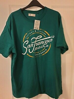 Next size 2XL green Tshirt - brand new with tags