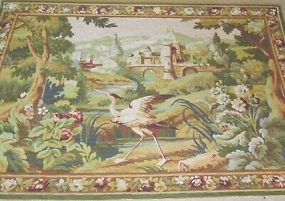 Very Beautiful French aubusson tapestry Good condition.