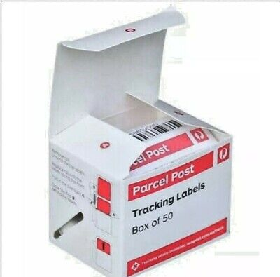 5 X 50 Parcel Post Tracking Labels + Free Shipping