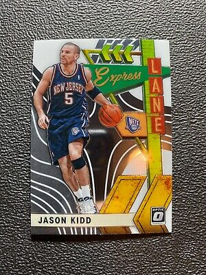 2019-20 Panini NBA Optic Express Lane Insert 18 Jason Kidd Nets
