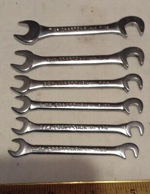 -V- Series 6 PC Set CRAFTSMAN OPEN END IGNITION WRENCH SET