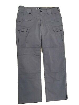 5.11 Tactical Series Police Patrol Military Cargo Pants Women's Sz 12 Gray