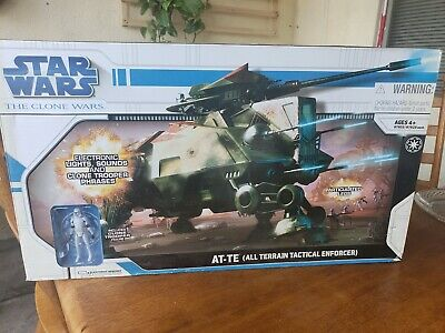 Star Wars - The Clone Wars AT-TE All Terrain Tactical Enforcer 2008 **Sealed** 1