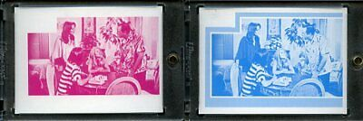 1977 Topps Charlies Angels Color Separation Proof Cards. #236
