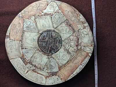 Ojuelos de Jalisco Alien Artifact. Authentic Aztlan Artifact Calendar. Ancient