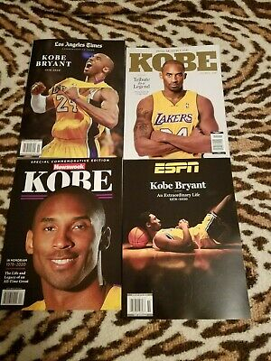 Kobe Bryant ESPN LA LAKERS  collector's magazine