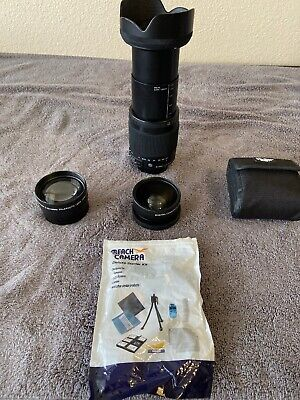 Nikon NIKKOR AF-S 18-300mm f/3.5-6.3 VR ED Lens (2216) 8 Different Assorted Lens