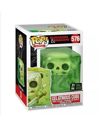 2020 Funko Pop ECCC Dungeons And Dragons Gelatinous Cube Preorder