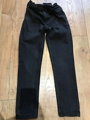 Boys Black Skinny Jeans Age 8, NEXT