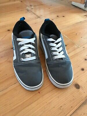 Heelys Grey & White Boys/Girls Trainer Skate Shoes, Size 6 UK (39)