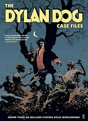 The Dylan Dog Case Files comic novel horror RARE collectable Italian book goth