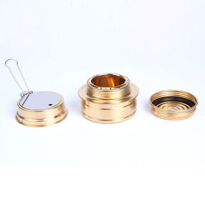 1*Portable Survival Alcohol Stove Burner For Backpacking Camping Outdoor 69*45mm