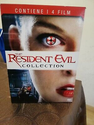 The Resident Evil Collection 4 Dvd Come Nuovo!