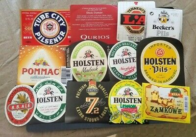 World wide nice lot of all different Beer labels I