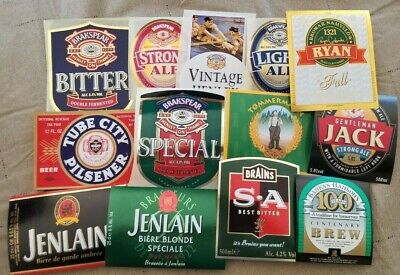 World wide nice lot of all different Beer labels VII