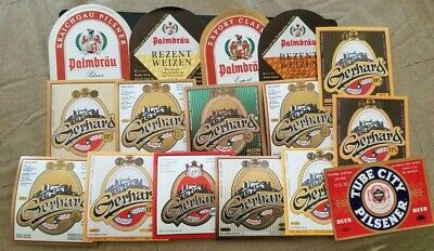 World wide nice lot of all different Beer labels XI