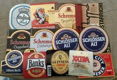 World wide nice lot of all different Beer labels XX