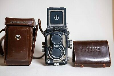 Yashica 44 Twin Lens Reflex Camera And Case
