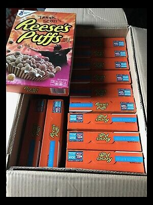****UK LISTING**** Travis Scott Reese's Puffs Cereal Regular Size, 12 BOXES!!!