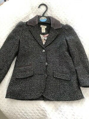 Monsoon Grey Girl's Blazer Jacket and Short, Age 5 Years (2 pieces)