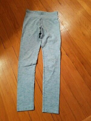 EUC Justice Girl's Blue Leggings - Size 12