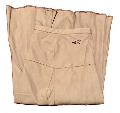 VG Horny Toad Beige Tan Paneled Lined Skirt M Flare