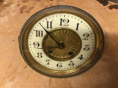 Antique French 8 Day Striking Clock  For Restoration