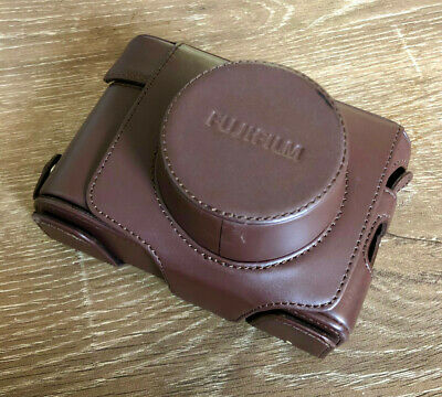 Fujifilm LC-X100F Leather Case - Brown - USED IN GOOD CONDITION