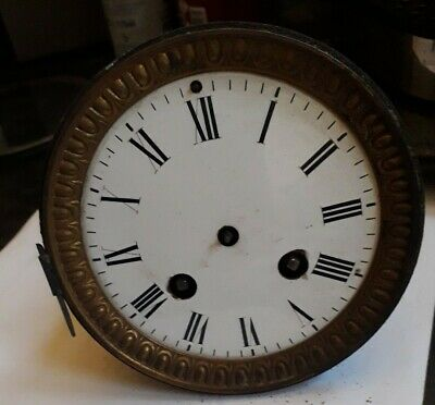 Antique French clock Movement Spares Or Repair