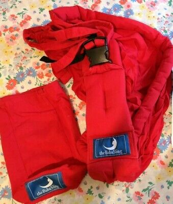 Baba sling Red Baby Carrier Wrap