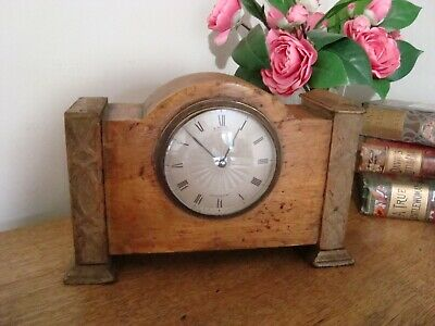 Mid Century Mantle Clock E WHITE Jermyn St LONDON French Movement Spares Repair