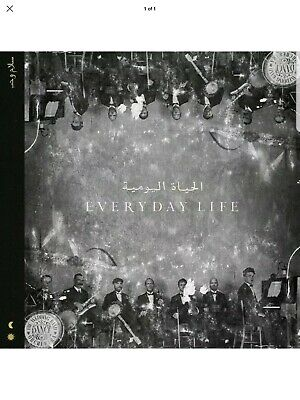 Coldplay Everyday Life Cd Album Casebound Book Pack