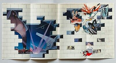 PINK FLOYD 1979 vintage PROMO ADVERT THE WALL Gerald Scarfe ROGER WATERS
