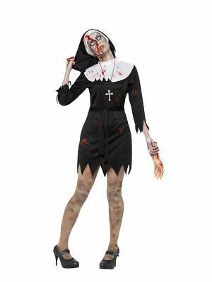 Hen-Stag-Fab /& Funny PREGNANT NUN Fancy Dress  ALL SIZES 10-26