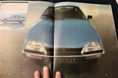 Catalogue / Brochure CITROEN CX de 1980 ""