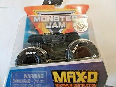 Spin Master Monster Jam Max D Blacked Out 2020!! 5% Off When You Buy 2 Or More