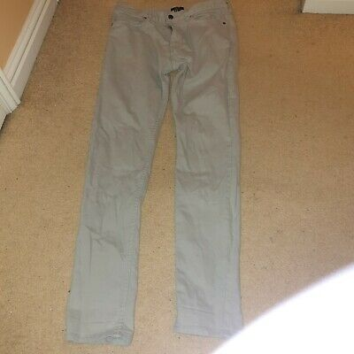 H&M Mens Boys Grey Skinny Jeans Size 30