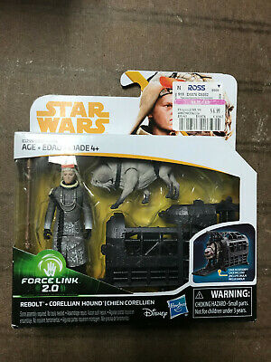 cage Star Wars Solo 3.75 5POA Force Link 2.0 loose complete Corellian Hound