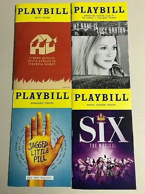 Virginia Woolf, My Name is Lucy Barton, Jagged Little Pill, Six ( Any 5 for $25)